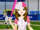Daphne loves the game of baseball and has earned herself a strike position. But