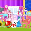 With this decorating games for girls you can rearrange all the doll furniture i