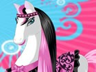 Beautiful horse dress up is a fun game for girls. Make this horse so cute. You