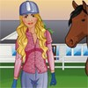 Check out fashion studio and design , sew new clothes to this cure horse rider