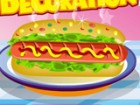 Hot dog decoration is a game for the hot dog fans. You can put whatever you wan