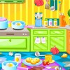 Cleaning up can be hard work and boring, but it doesnt have to be with the house clean up rooms game. This clean up game allows you to clean the kitchen, bedroom and more in a fun and exciting way. Here you can clean up spills, put rubbish in the bin, place items back on the shelves, sweep/vacuum the floor, and so much more before you run out of time.
