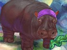 This Hippo is really hungry and needs help to eat and stay clean. Feed the Hipp