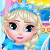 Frozen movie's princess Elsa and monster high series Abbey bominable is both li