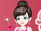 Play this game and meet the Ice Princess. Pick up a nice dress for her and mak
