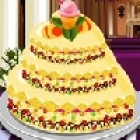 Help decorating in the kitchen. There is an order of a wedding cake!