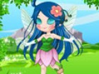 On fantasy island there is a pretty fairy. Today she will go out and look aroun