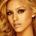 A puzzle game with a celebrity in it! Complete the puzzle to show Jessica Alba