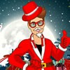 It's Christmas time. You'll be able to dress up Justin with the best Santa Cla