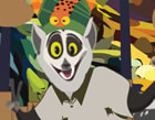 King Julien has a new taste in jungle fashion and he wants to share it with eve