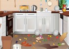 This Kitchen Room is in a lot of mess and needs a good cleanup. Once you have d