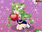 Kitty girls are so cute. Dress up this girl in a super cute cat outfit. you can