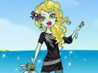 Dress up sweet ghoul Lagoona Blue in fashionable outfits, choosing from her col