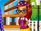 Lisa loves school, especially the dressing up part, where she can mix and blend