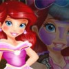Play our latest princess makeover game and make up young princess Ariel and dre