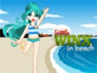Winx wants to spend the time in beach. She selected  miami beach to spend the t