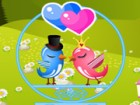 Cute love birds want to spend some time talking with each other at a lovely spo
