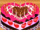 Decorate a sweet cake for your Valentines love....