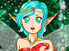 Enter a world of fantasy and magic. As a fairy, this beutiful girl flies across