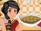 Help Mia in the kitchen to make a homemade Beef Curry from scratch. Cook the be