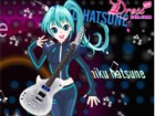 Being a famous Japanese singer, Miku Hatsune ge...