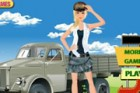Chic military-inspired clothing are perfect choice to carry you from cool summe