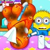 Minions have foot injury and needs to your help. Please take care of their foot