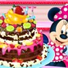 Minnie Mouse is going to cook Chocolate Cake for her friends. You must go to sh
