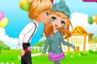 The young couple is planning to have romantic time. Could you dress up the cute