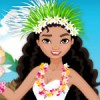 Moana, Lilo and Stitch will go to a summer holiday to an island. You must dres