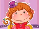 The little monkey came to your salon to be dress up like a monkey super star. T