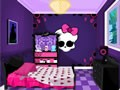 The monster high room decoration is an interior design games online for girls.