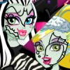 Monster high's cool ghoul Draculaura have a Slumber party and she invited Frank