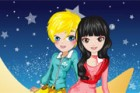 The little moon princess and the prince make their own way across the stars. Th