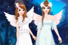 Moonlight fairies are going to a wedding party tonight, their close friend from