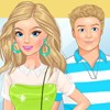 Play this game help our girl look stunning on a movie date. She needs your expe