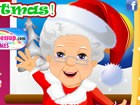 Look through Mrs. Santa's stylish winter coats, through all her lovely, colorfu