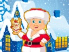 Mrs Claus is a woman of good taste. Apart of baking cookies for Santa Claus, sh
