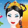 Princess Mulan come to your beauty salon. First take care of her hairs. Wash her hairs and then give her a facial care. Make up her with nice make up tools.At the end dress up her with nice chinese clothes.