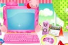 I own a computer but it is not very cute. So i want to decorate it and make it
