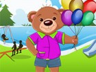 Help this cute Teddy dress up nicely for a bash in the jungle. His friends are