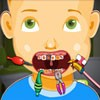 It is time to take care of naughty kid Johns oral health. Little John is suffe