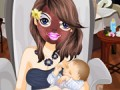 Play new mom spa girls games now! she's a new m...