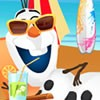 Olaf is a snowman but he loves summer and beach too much. With a special spell
