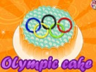 We decided to make an olympic cake for all the athlete's who win a medal. Congr