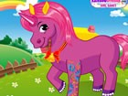 Step into the ponies' dreamland world and dress up the cutest magic horsy livin