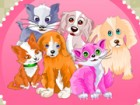 You have to take care of the baby pets and make them happy. Pass each level by