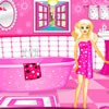 Let's decorate a pink bathroom for Barbie's new house.