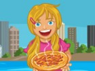 Pippa just opened a brand new travelling pizza shop! Help her serve customers a