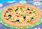 Take a tour of Italy in this pizza decoration game, and on the way decorate som